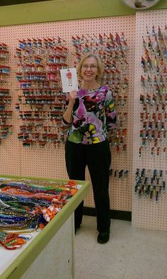 This photo was taken at The Bead Hive in Coopersburg, pa. Owner, Eileen T. At The Hive they focus on seed beads.