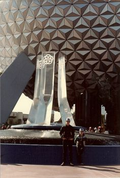 Remember this? This page has tons of photos of how EPCOT Center's entrance and Spaceship Earth used to look.