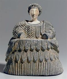 Bactrian female figure  Late 3rd - Early 2nd millennium B.C.