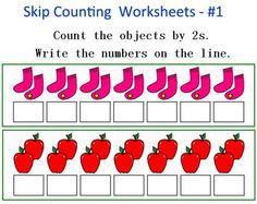 Worksheets For Skip Counting — Barongs Preschool