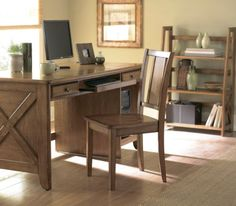 Homelegance Britanica 3 Piece Kids' Bedroom Set Belongs to Britanica Collection , Country Style , Computer desks for working or studying , Two working drawers , Keyboard tray , Computer wire holes , Folding Bookcase , 3 Shelves , Armless Chair , Wood Seat , Hardwood and oak veneers , Available in both black and oak finish, Writing Desk 1 , Bookcase 1 , Side Chair 1.  #Homelegance #Home