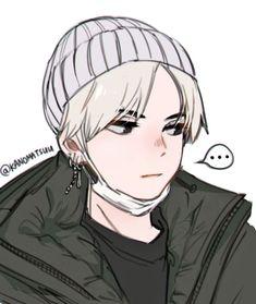 Read TaeGi Gatito❤ from the story YoonGi Bottom by JuniethGonzalez (Dasha Taegi) with reads. Kpop Anime, Anime Guys, Bts Chibi, Aesthetic Anime, Aesthetic Art, Pretty Art, Cute Art, Fanart Bts, Kpop Drawings