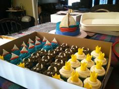 Where the wild things are cupcakes/smash cake