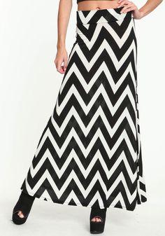 #Love Culture             #Skirt                    #CHEVRON #MAXI #SKIRT     CHEVRON MAXI SKIRT                                  http://www.seapai.com/product.aspx?PID=4807