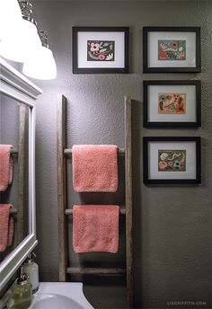 My Home Tour - Bathroom make-over. Before and after @Targetstyle #targetrefresh #targetstyle