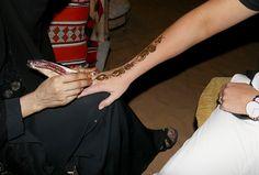 Getting a Henna Tattoo Dubai  #desert #safari #dubai