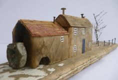 Beautiful sculptures made from driftwood and recycled materials by Kirsty Elson Designs