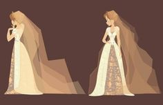 Tangled wedding dress - Lorelay Bove on Twitter