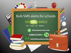 Schools can send sms to parents such as attendance, results, homework and emergency announcements,  #BulkSMS #APISMS #OTPSMS #SMSGATEWAY