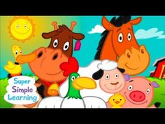 Time to wake up! Playing this song after a good night's sleep or an afternoon nap will help young children get up bright-eyed and ready to go!    The song, picture cards, and worksheets are available on the Super Simple Songs - Animals enhanced CD: http://supersimplelearning.com/songs/themes-series/animals/    Music: Super Simple Learning  Animation:...