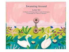 Buy Roger La Borde - Writing Set online and save! Roger La Borde: Writing Set – Swanning Around Long live snail mail! These letter sets are one of Roger La Borde's star products, & 2018 brings ma.