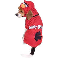 Paper Magic Angry Birds Red Bird Dog Pet Halloween Costume ** Want to know more, click on the image. (This is an affiliate link and I receive a commission for the sales) #MyDog