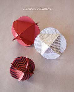 DIY: Globe Ornament | conundrum