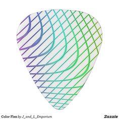 Color Flex Guitar Picks!  Design appears on both sides. http://www.zazzle.com/color_flex_pick-256960553145991482