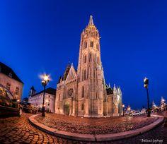 Matthias Church (Hungarian: Mátyás-templom) is a Roman Catholic church located in Budapest, Hungary - fisheye photo