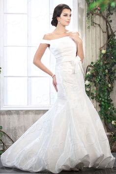 Fashion Trumpet Mermaid Off The Shoulder Sweep Brush Train Taffeta Wedding Dress CWXT13012  $199.24   Wedding Dress, Wedding Dress, Wedding Dress, Wedding Dress, Wedding Dress, Wedding Dress, Wedding Dress