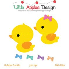 Rubber Duck Clip Art / Duck Clipart / Rubber Duck Digital Images / Commercial & Personal on Etsy, $2.50