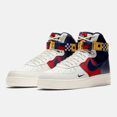 TOP quality nike Air Force 1 High Nautical Redux sneakers