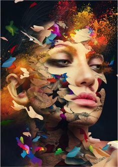 digital artist, Alberto Seveso