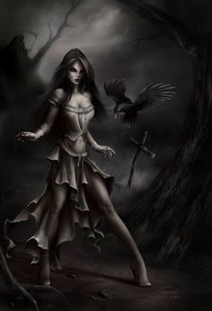 Lenore and the Raven