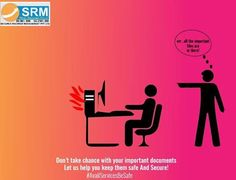 Don't Take Risk!! Secure your documents... www.securus.co.in #records #recordmanagment #documentmanagement #data