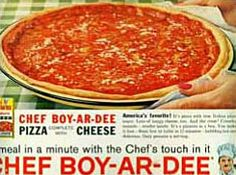chef boy ar dee pizza - My Mom used to make the BEST homemade pizza ever!!