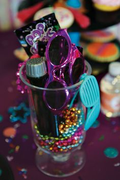 music themed birthday party  | Girly Themed Rockstar Birthday Party // Hostess with the Mostess®