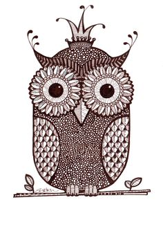 King Wol - pen and ink  / limited edition prints by Pixelpants