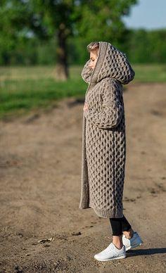 Cardigans For Women, Coats For Women, Only Cardigan, Pijamas Women, Mantel Beige, Big Yarn, Gilet Long, Beige Coat, Sweatshirts