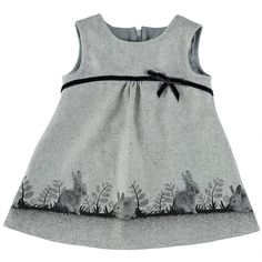 Rabbit dress with bow created by French designer Eponime
