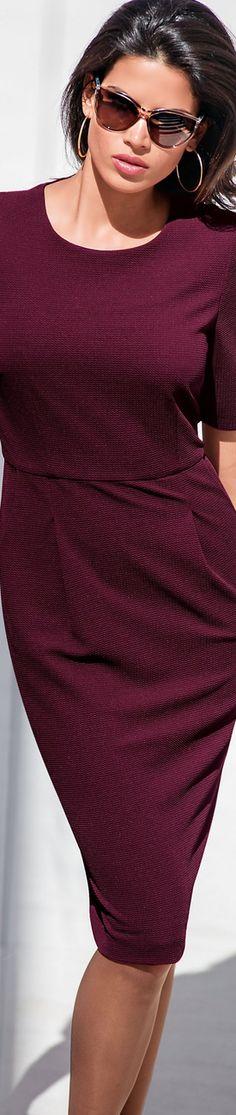 Madeleine Blackberry Skirt