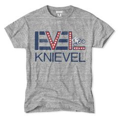 My boys neeeeed this shirt. We just saw the ramp where Evel Knievel jumped the Royal Gorge in Canon City, CO.