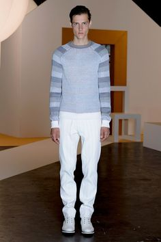 Jonathan Saunders Spring 2015 Menswear Collection - Vogue
