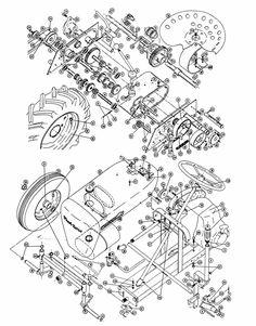 Wheel Horse Parts Diagram Wheel Horse Tractor, Chopper Parts, Go Kart Buggy, Vintage Tractors, Restoration, Diagram, Horses, Atv, Homestead