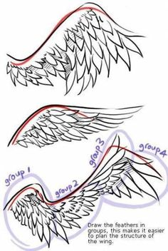 Drawing anime wings art 51 ideas to drawing wings Drawing anime wings art 51 ideas Anime Drawings Sketches, Pencil Art Drawings, Anime People Drawings, Random Drawings, Fantasy Drawings, Drawing People, Drawing Reference Poses, Drawing Tips, Drawing Ideas