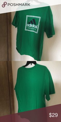 840ca3234a8c Adidas green tshirt :) adidas Shirts Tees - Short Sleeve