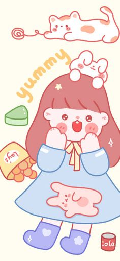 微博 Bear Wallpaper, Cute Wallpapers, Hello Kitty, Fictional Characters, Art, Necklaces, Kunst, Cute Backgrounds, Fantasy Characters