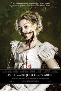 Pride & Prejudice & Zombies (2016) by Burr Steers // Sickly green will be the color scheme of this party.