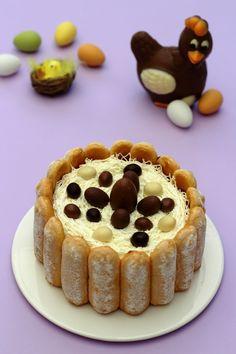 16 Recettes de gâteaux de Pâques que vous allez adorer ! Chocolate Mousse Cake Filling, Chocolate Cake, Cake Videos, Cheesecake Recipes, Easy Desserts, Cake Decorating, Sweets, Baking, Occasion
