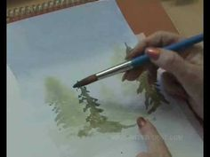 How to paint with watercolours - wet into wet. All the tips, tricks and techniques on how to paint using watercolors using the wet into wet technique. Online watercolour art lessons brought to you by Vir2l Art Student - www.vir2l-artstudent.com.