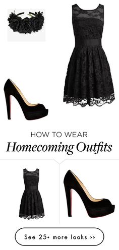 """""""My freshman homecoming story! (all freshman must read)"""" by livelaughlovefashions-19 on Polyvore featuring Christian Louboutin"""