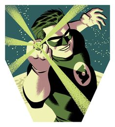 Silver Age Green Lantern http://ift.tt/2dPWxAx @Michael_Cho #Arts #Michael_Cho_s_sketchbook #Illustration