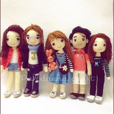 #❤️ #amigurumidoll #happy #cutie #cute #handmade #handcrafted #crochet #crochetdoll #crafts #kawaii #love #family #mylove #momade #mydoll  #womens #man #girl #ตุ๊กตาถัก #ตุ๊กตาไหมพรม #งานฝีมือ #❤️