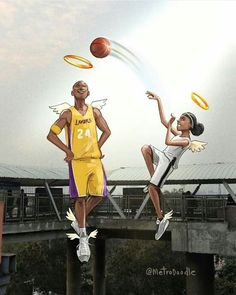 High quality Kobe Bryant gifts and merchandise. Basketball Art, Basketball Pictures, Love And Basketball, Basketball Players, Nba Players, Kobe Bryant Family, Lakers Kobe Bryant, Kobe Bryant Daughters, Kobe Bryant Quotes