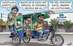 Carlincaturas 03-09-2012 #peru #politica