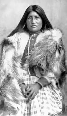 (5b) Counteza (aka Bummer), Chiricahua Apache. Lt. Charles Gatewood identified Counteza as an injured member of Chihuahua's band who had been captured with Geronimo's group.