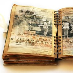 Francoise Journal Page Project by Anna Dabrowska