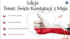 Święto 3 maja by lukasztartas on Genial.ly Content, Education, Geography, Literatura, Teaching, Onderwijs, Learning
