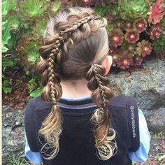 Cette maman réalise chaque matin des coiffures incroyables pour sa fille
