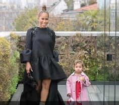 Fendi kids special testimonial during Milano fashion week!!! In love with Marjorie Harvey's granddaughter. Look from SS 17 WWW.FENDI.COM